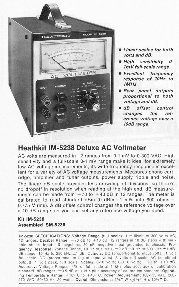 www heathkit nu rh heathkit nu heathkit im-5238 manual Heathkit 10 12 Manual