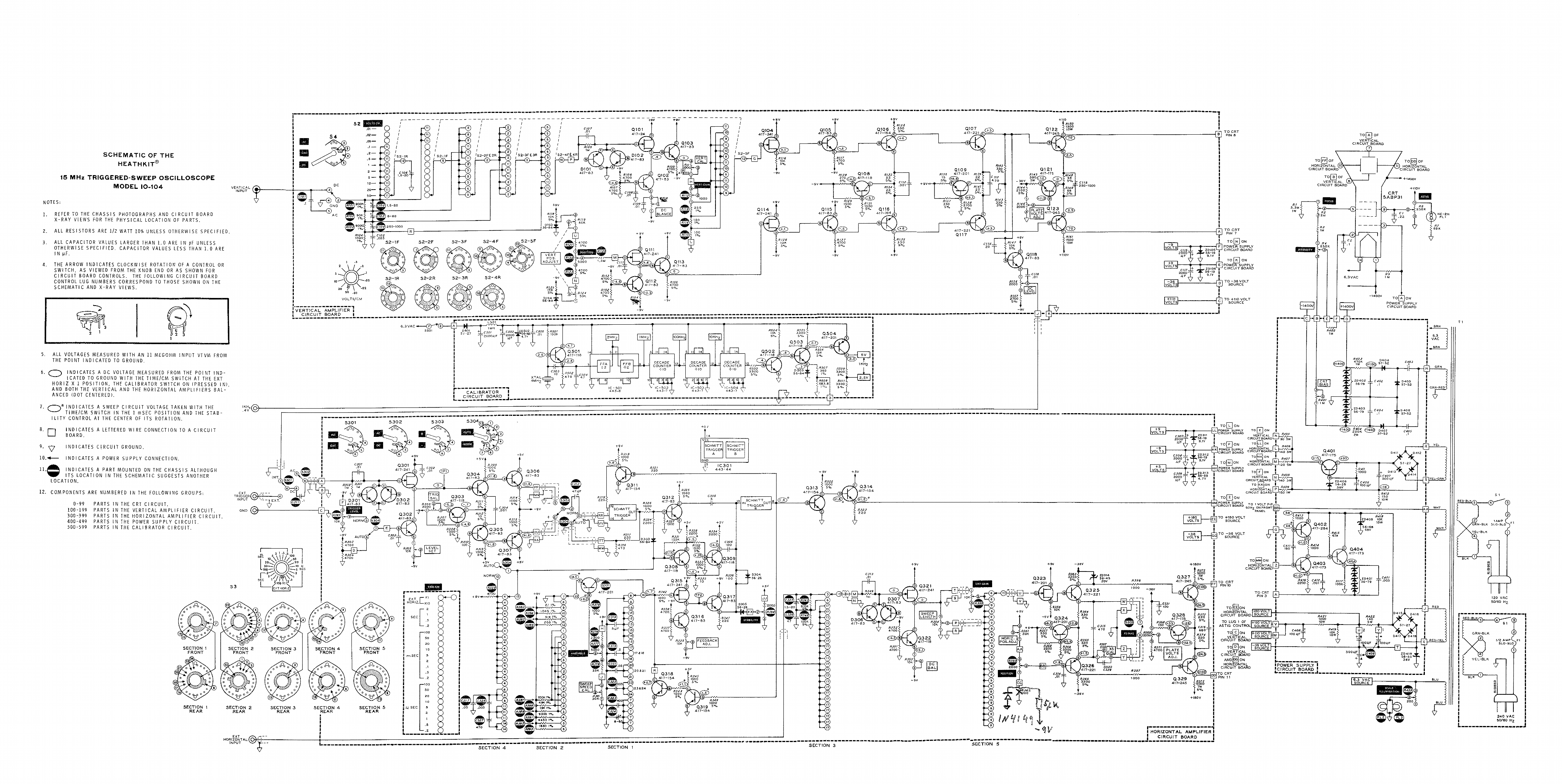 Garrett Metal Detector Schematic Bfo Circuit Heathkit Oscilloscope Get Free Image About